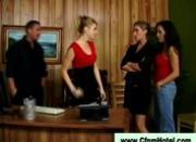 Cfnm femdom court room chicks