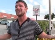 Hot Public Gay Sex in a Video Store