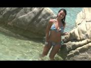 Gorgeous raven strips in the water - Julia Reaves