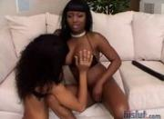 Jada and Marie take turns sharing dick