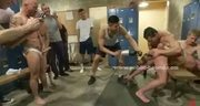 Gay sex slave fuck by group of extreme men in rough bondage gang bang