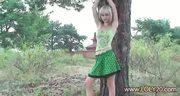 Nude russian blonde girl