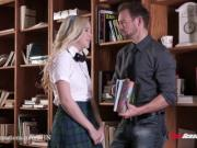New Sensations - Schoolgirl Samantha Rone Wants To Fuck Her Teacher Bad