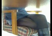Hidden cam under table