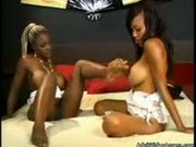 Lesbian Foot Love: Lacey and Coco