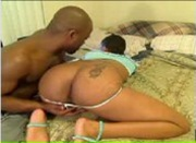 Homegrown Black Couple on Webcam