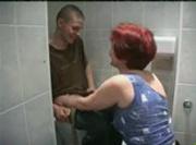 Redhead Russian MILF Fucks 18-year-old Teen