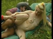 German cowgirl goes for a ride - Julia Reaves