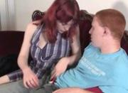 Ginger couple bj and pussy licking