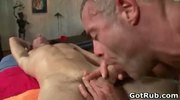 Dude gets super hot gay massage