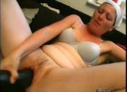 This slut is horny
