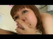 Sticky japanese blowjob