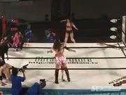 Uncensored Japanese Wrestling Part 2A