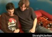 Straight Wankers Martin and Radek