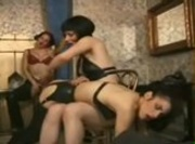 Lesbians Festish - Latex and Spanking