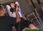 Good looking real asian school girl hammered hard