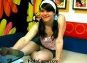 Amateur Webcam Babe Blows Studio Boss