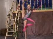 Flexible gymnast gets hard sex