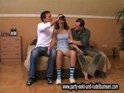 Drunken Partygirl Threesome Gangbang_Drunken-16