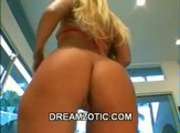 Blonde Ass-To-Mouth