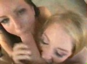 2 Girls, 1 Guy & Lots of Cum Swapping