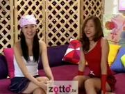 Zotto TV 2 Korean Girls Shaved their pussies
