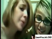 EMO Hot Young Teen BFFs Masturbate On Cam!