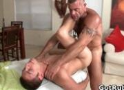 Massage pro in deep anal wrecking gay
