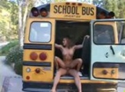 Naughty Jackie Moore - School Bus Girls