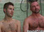 Josh and Kyler hunky studs extreme BDSM