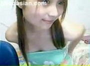Sexy Asian Webcam Teen Strips