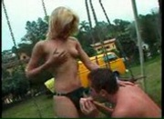 Hot Blonde Fucks Straight Guy's Ass