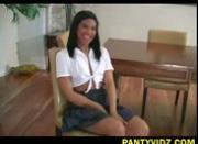 Emy ebony schoolgirl panty upskirts