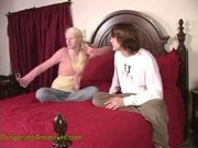 Young Albino Mom Fingered