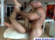 Massage client gets a buttfucking