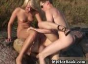 Dalia and Vanilla are two horny blonde babes tha