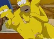 Homer & Marge Simpson Is Alaska