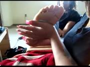 2 foot fetish lesbians