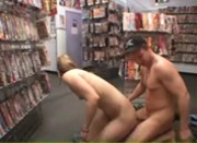Kylie Rose Fucks in a Porn Video Store