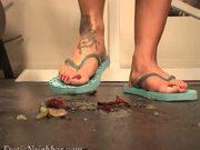 Lexi Lapetina Crushing Grapes