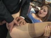 Dani Daniels is a naughty secretary who has dirty
