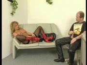 Jerking off while she masturbates - Julia Reaves