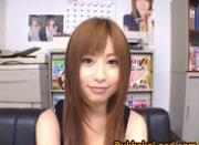 Real asian hot babe Kokomi Naruse is Getting