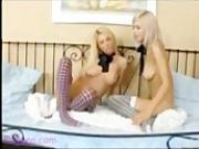 Tender Touches Lesbian Blonde