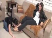 lesbian foot-mistress michelle