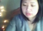Shy asian slut trying webcam sex first time