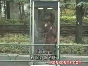 schoolgirl be fucked after masturbating in telephone booth