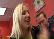 Blonde Eden Adams creampie