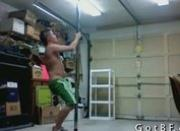 Blonde Twink Pole Dancing 4