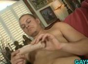 Guy cant handle huge cock